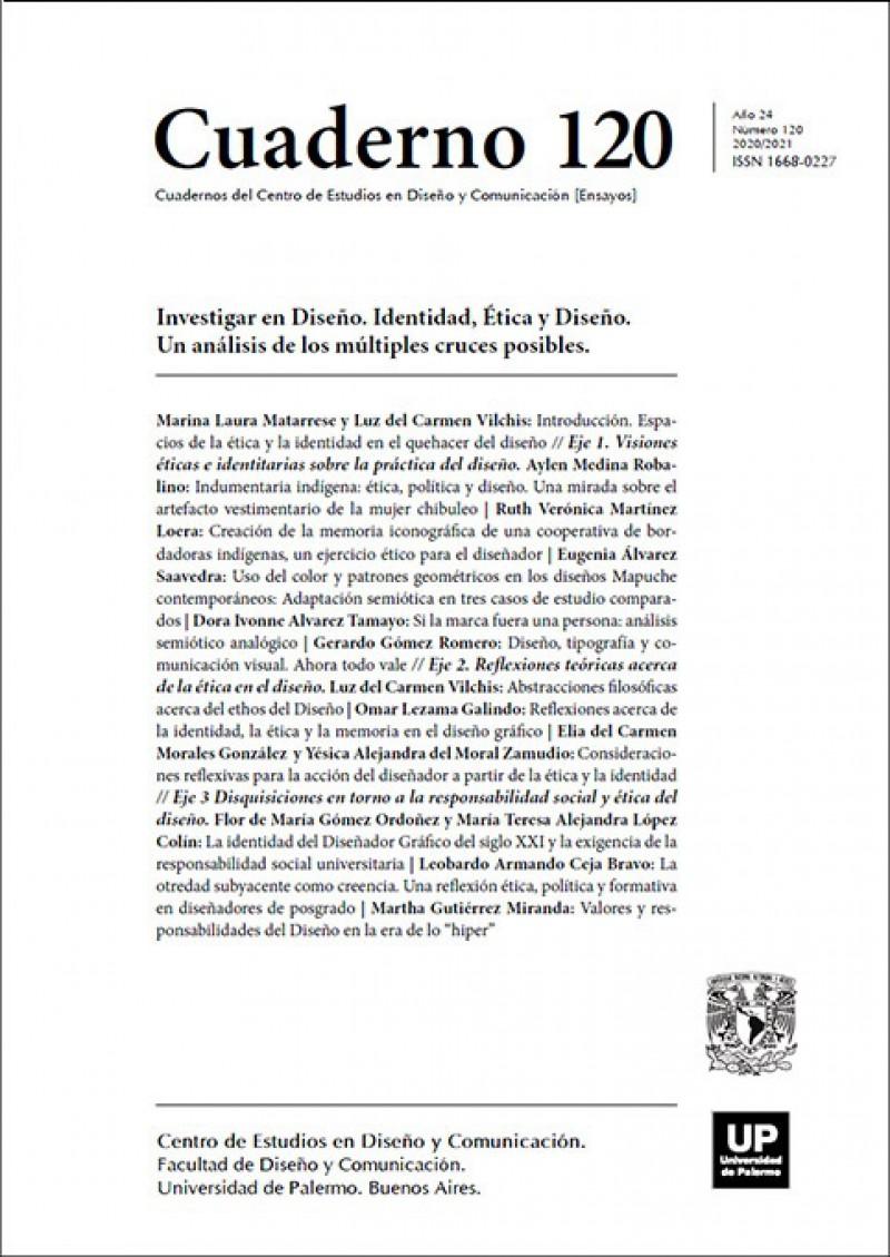 Red Vitruvio Cuadernos Del Centro De Estudios En Diseño Y Comunicación No 120